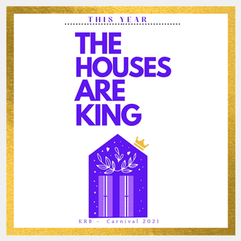 Krewe of Red Beans exclusive The Houses are King Flag