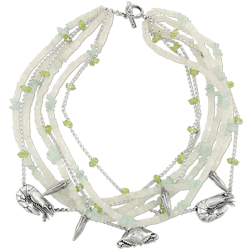 Mignon Faget Gumbo Necklace