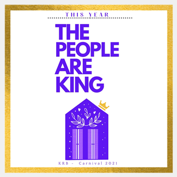 Krewe of Red Beans exclusive The People are King Flag