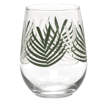 Palmetto Stemless Stemless Glasses