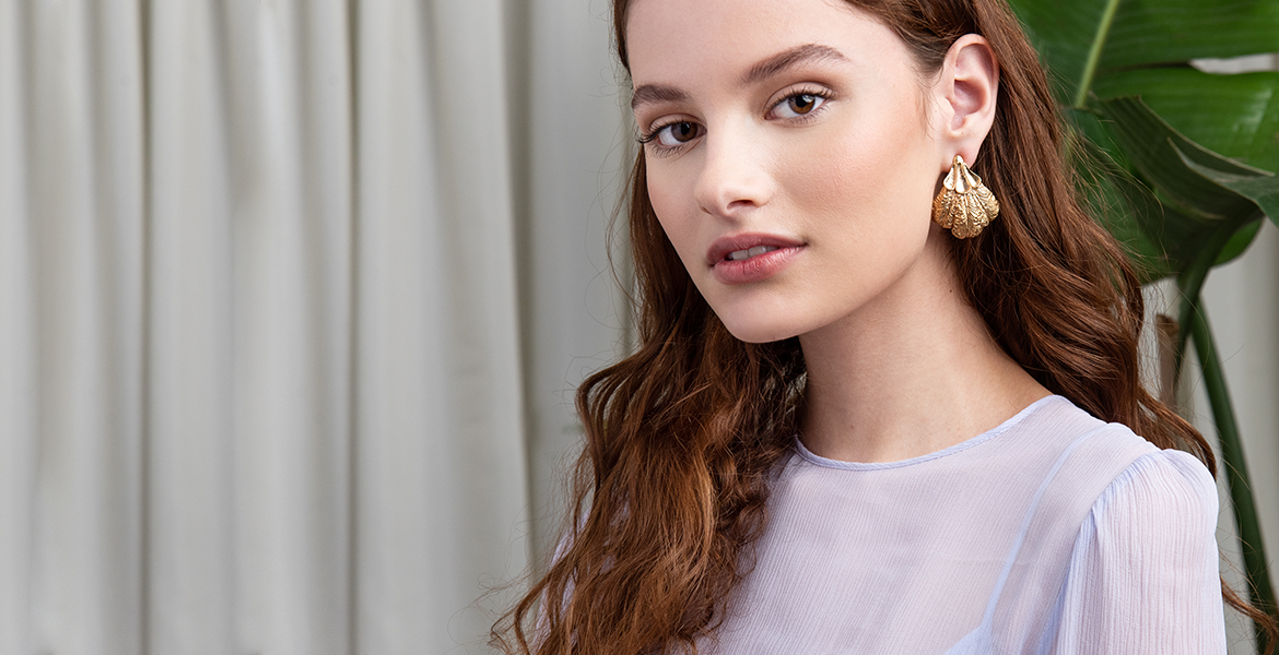 Mignon Faget Plume Earrings