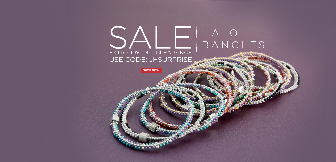 Halo & Chromatic Bangles on Sale