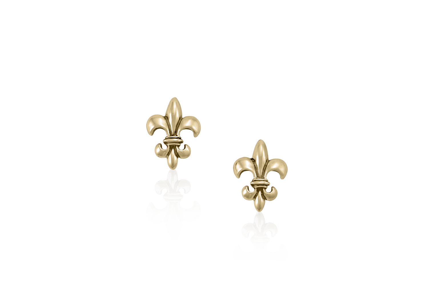 fleur de lis earrings mignon faget new orleans jewelry