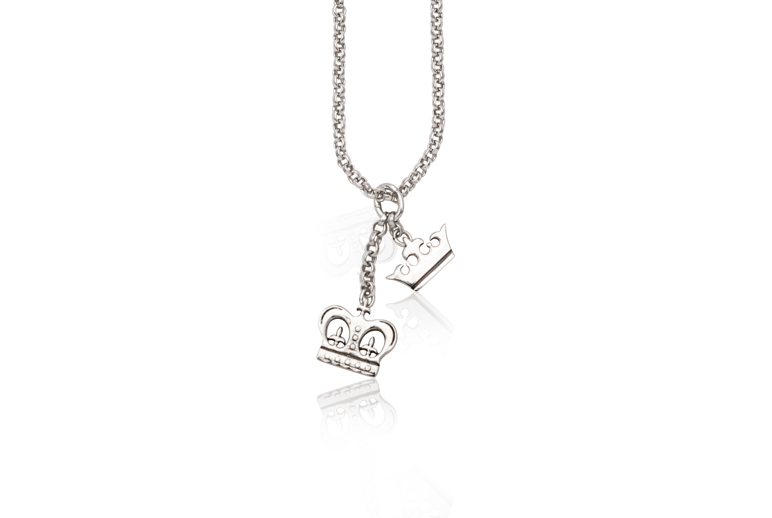 King And Queen Crown Pendant Mardi