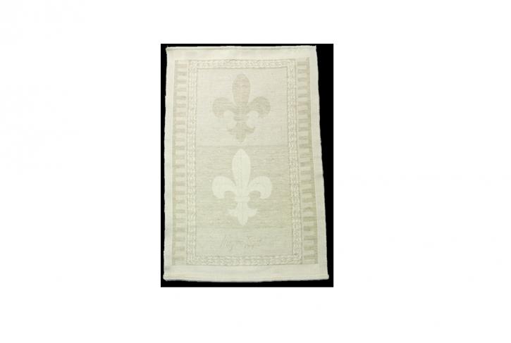 Fleur De Lis Hand Towel Small Mignon Faget